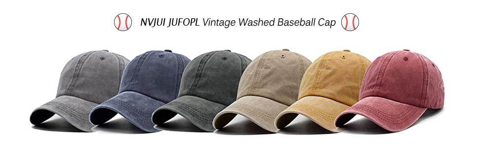Women's Cute Sunflower Baseball Cap Vintage Washed hat