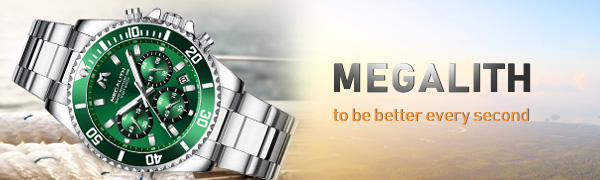 mens watches chronograph waterproof wrist watches for man
