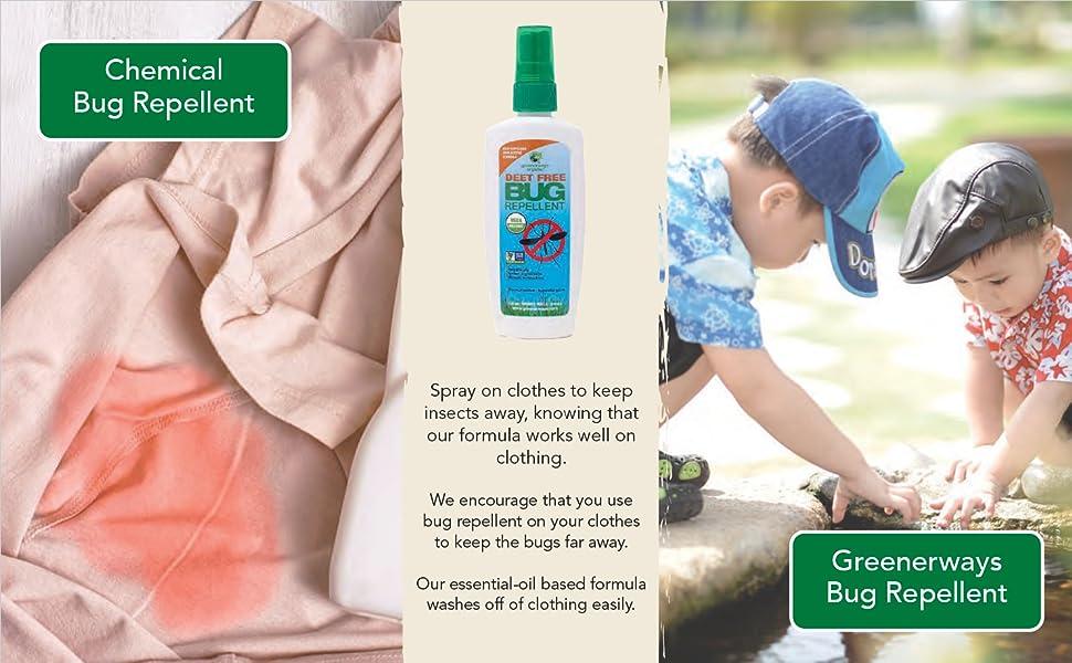 Organic Baby Bug Repellent sunscreen Children's Bug sun screen Repellent Insect Repellent Sunscreen