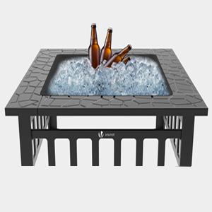 Feuerschale mit Grillrost