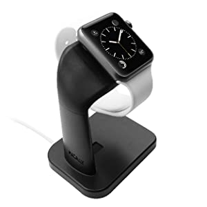 Macally Apple Watch Stand Holder Nightstand iWatch Charging Dock Station Smartwatch Series 4 3 2 1