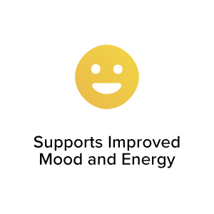 Supports Improved Mood & Energy