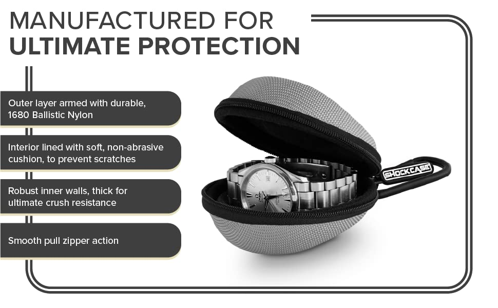 Manufactured For Ultimate Protection. Outer layer armed w/ durable, 1680 Ballistic Nylon