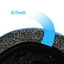 Thickened shock-absorbing and anti-fall inner shell