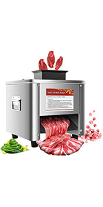 commercial meat cutter machine