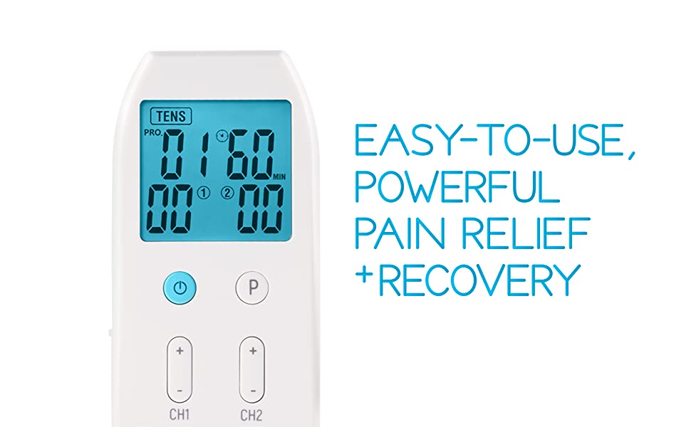 easy to use powerful pain relief and recovery