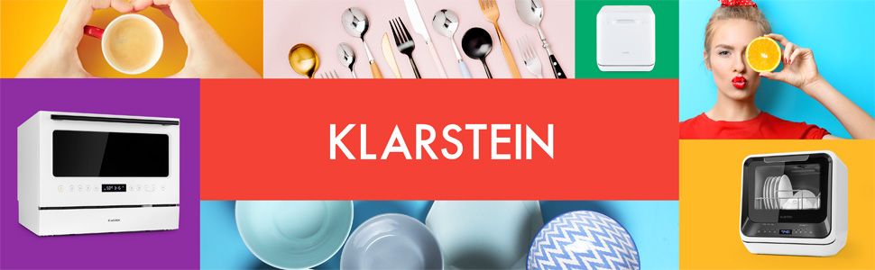 Klarstein Azuria Lavavajillas de mesa, Eficiencia energética A+ ...