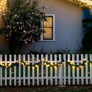 outdoor fairy lights decorations