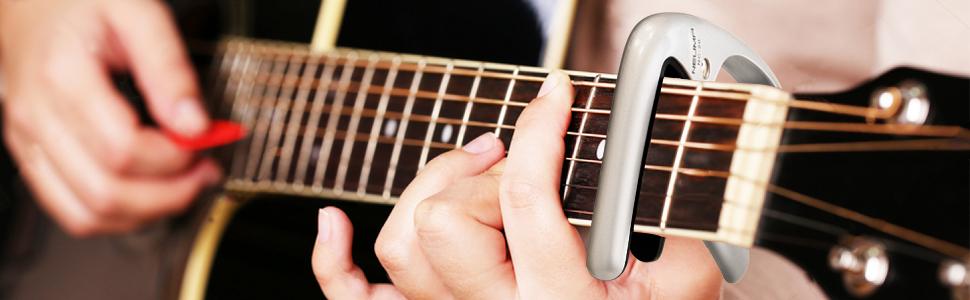 MARTISAN Cejillas Guitarra Capo para Guitarra Eléctrica, Acústica ...