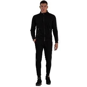 Black Sweatsuit for Men