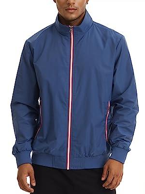 bomber jacket men mens bomber jacket thin jacket windbreaker men navy jacket lightweight jacket