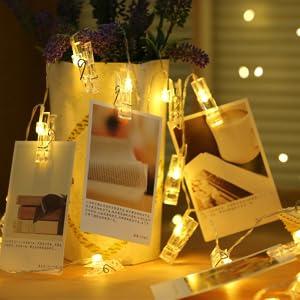 led photo clips