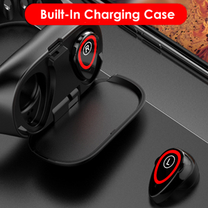 built in charging case