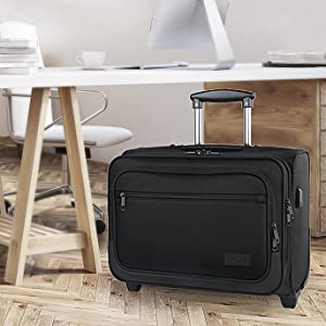 rolling laptop bag