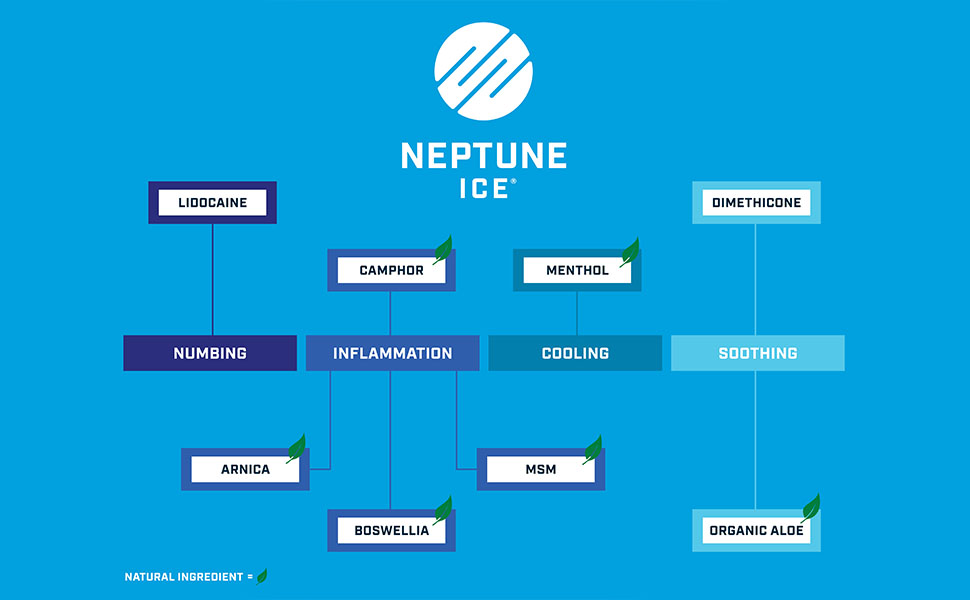 Neptune Ice ingredients and their purpose