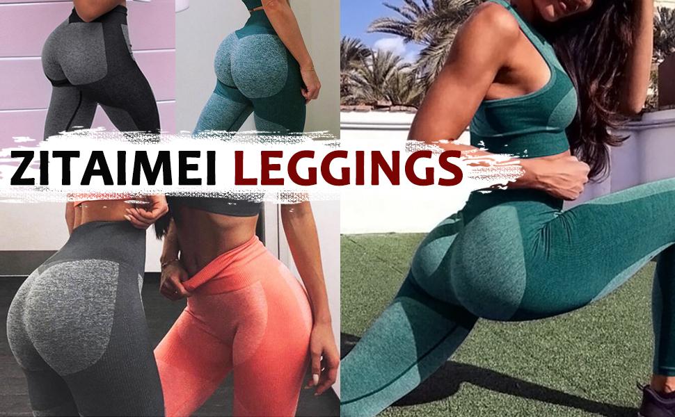 TXXT Pantaloni da Yoga Skinny Seamless Legging Legging High Yoga Pantaloni Yoga Scrunch Gym Leggings Push Up Booty Fitness Allenamento Abiti da Allenamento per Le Donne Ghette