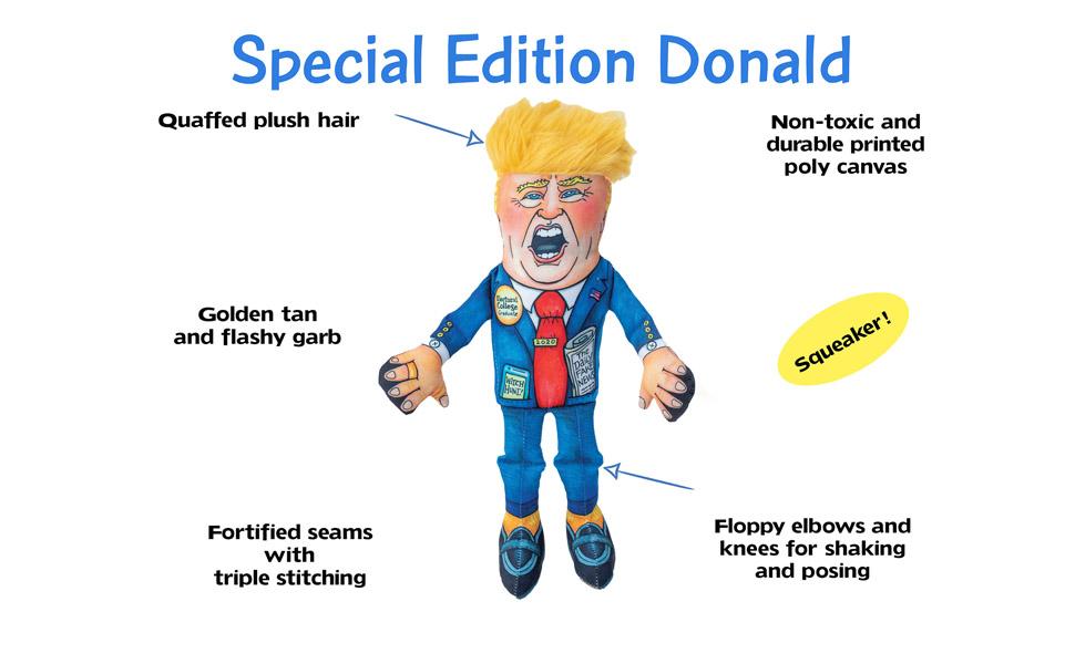 Trump Agressive Chewer Toy