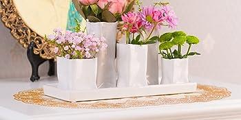 Keramik Blumenvasen