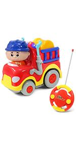 Little Pretender Remote Control Fire Truck First RC toy fire truck toy 18 months toys remote control