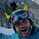 Banana for ski helmet