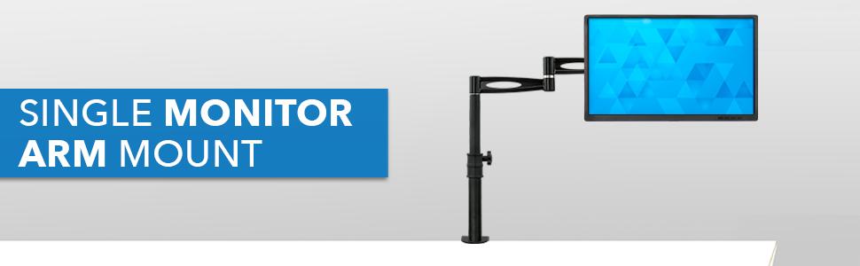 Single Monitor Arm Mount