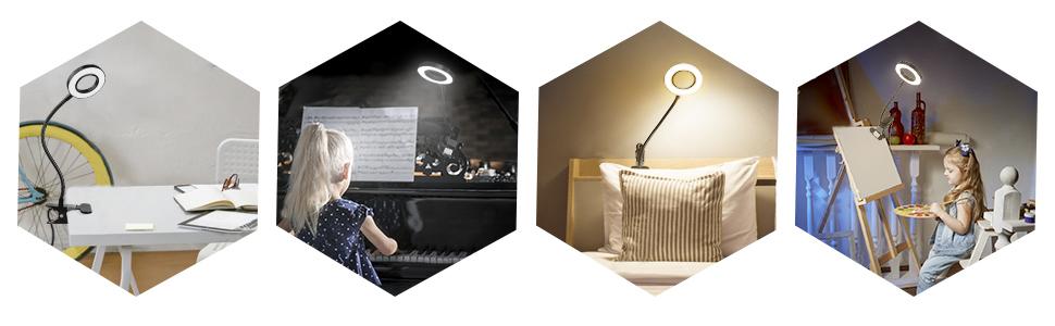 desk lamp clamp