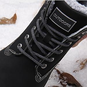 Winterstiefel Damen Herren Wasserdicht Gefüttert Winterschuhe Schneestiefel rutschfest Kurzschaft Stiefel Winter Boots