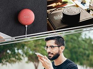 Nexx Smart Garage Door Opener NXG-200 Controller Voice Commands Handsfree Remote Alexa Google Siri