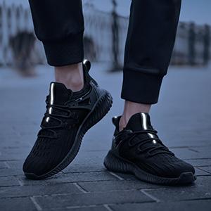 Mens Sneakers Work Slip On Slip Resistant Shoes 11