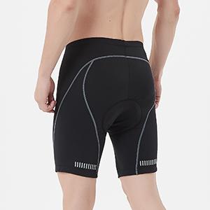 bike shorts men, padded cycling shorts men, mens cycling shorts
