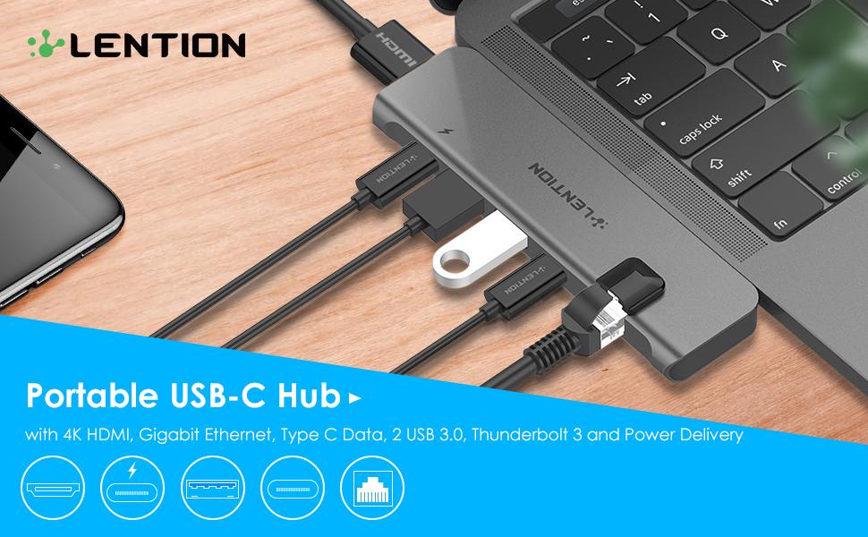Portable USB-C Hub