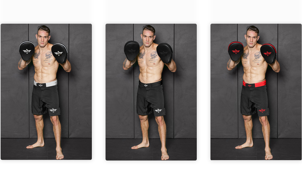 MMA Focus Mitts Action Life Style Image