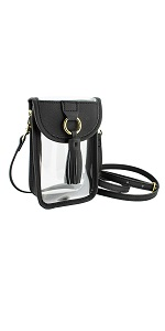 clear cell phone bag
