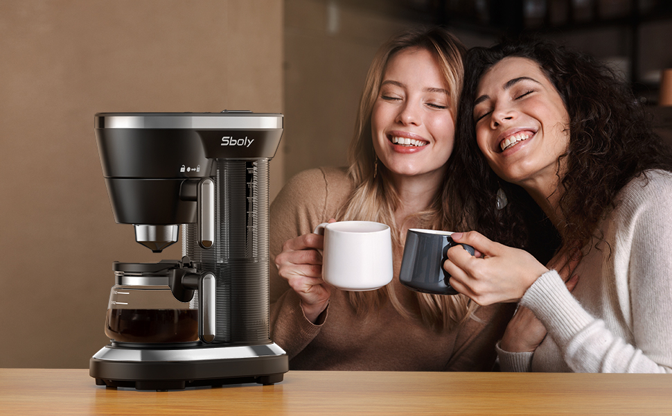 coffee machine for capsule and ground coffee