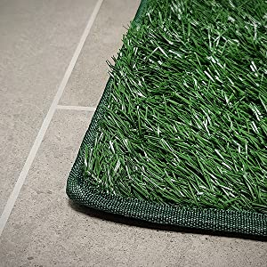 dog grass pad
