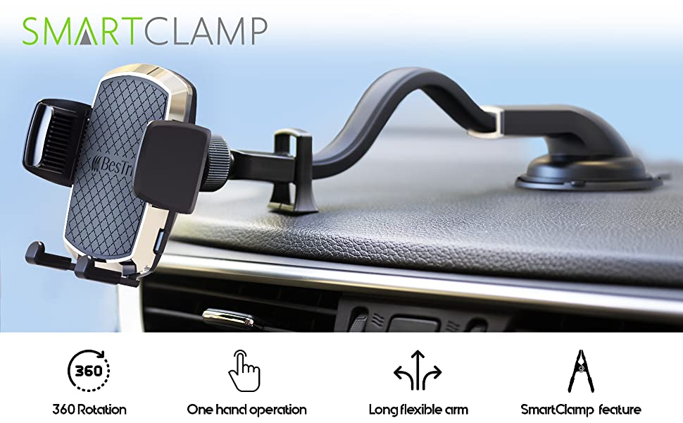 car mount phone holder for car
