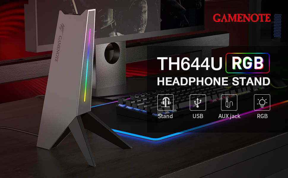 RGB Gaming Headset Stand