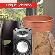 unique selection outdoor speakers
