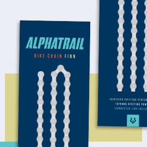 alphatrail verpakking fietsketting finn