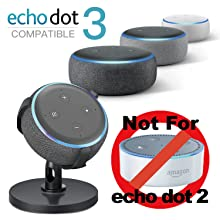 Sintron Table Holder For Amazon Echo Dot 3rd Generation