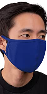 auline collection face mask royal blue