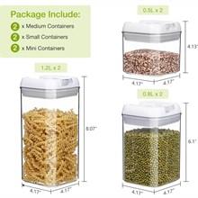 Pojemniki do przechowywania żywności