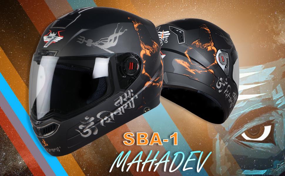 Mahadev Helmet
