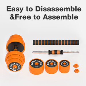 weight Dumbbell set  packing include