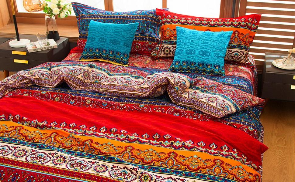 bohemian bedding western bedding