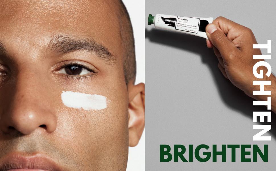 Amazon Com Man Inc Eye Cream With Caffeine For Dark Circles And