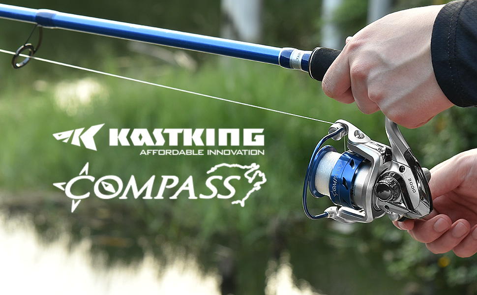 KastKing Compass Rods and Combo