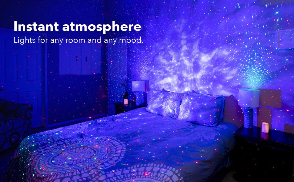blisslights sky lite star projector galaxy lamp lighting light laser