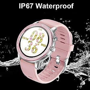 smart watch for ladies womens IP67 waterprof smartwatch swimming luxury tide watch fashion