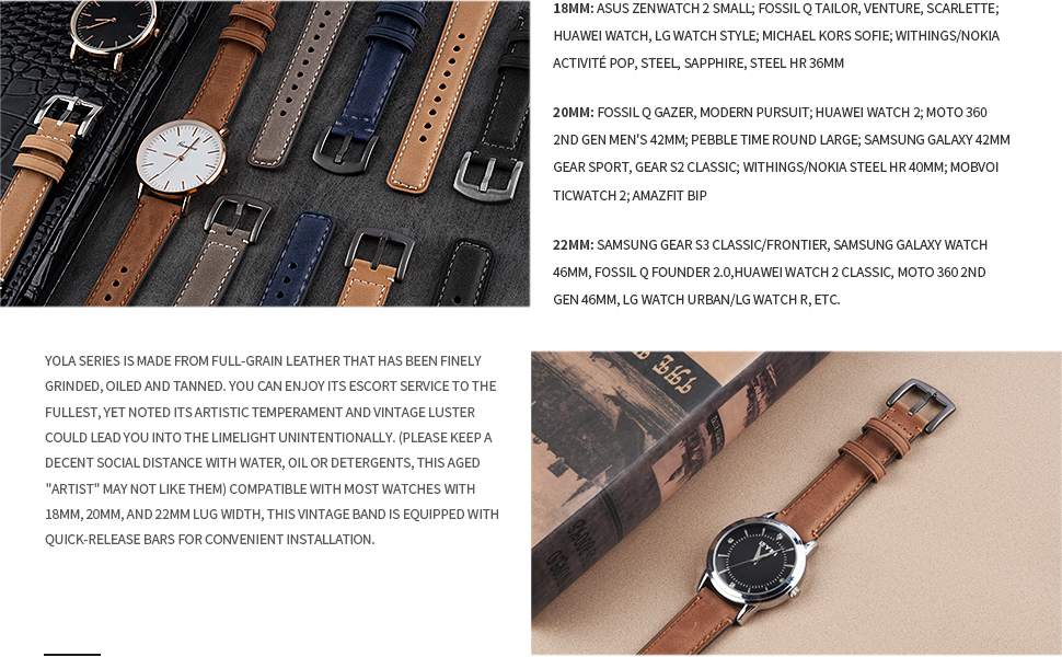 watch band 22mm